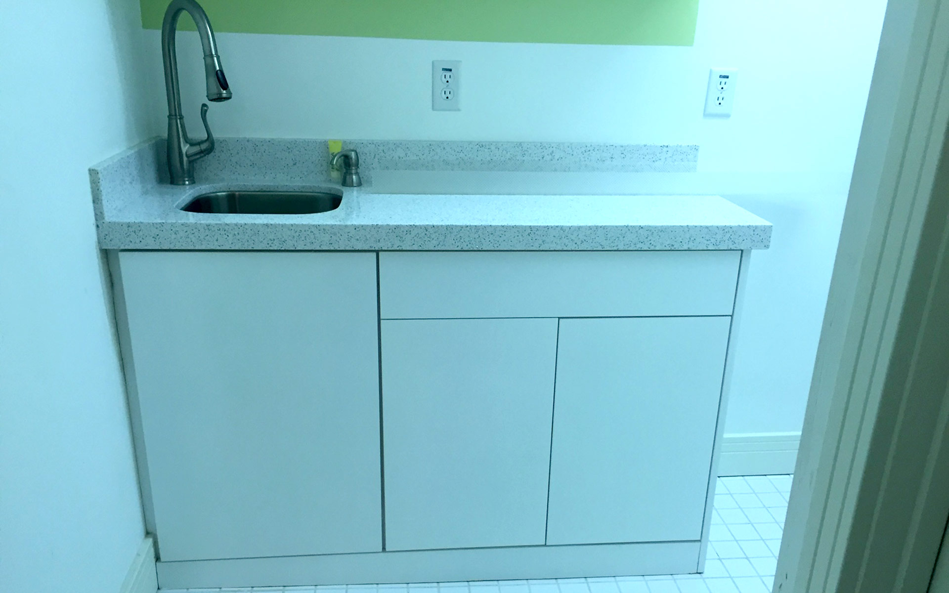 Park City home rental laundry room